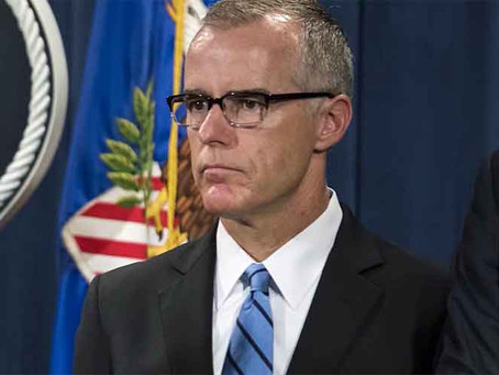 McCabe Admits Top Law Dogs Discussed Coup Against President Trump!