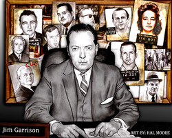 Jim Garrisons desk