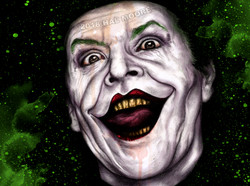 The Joker Ever dance with the devil colo