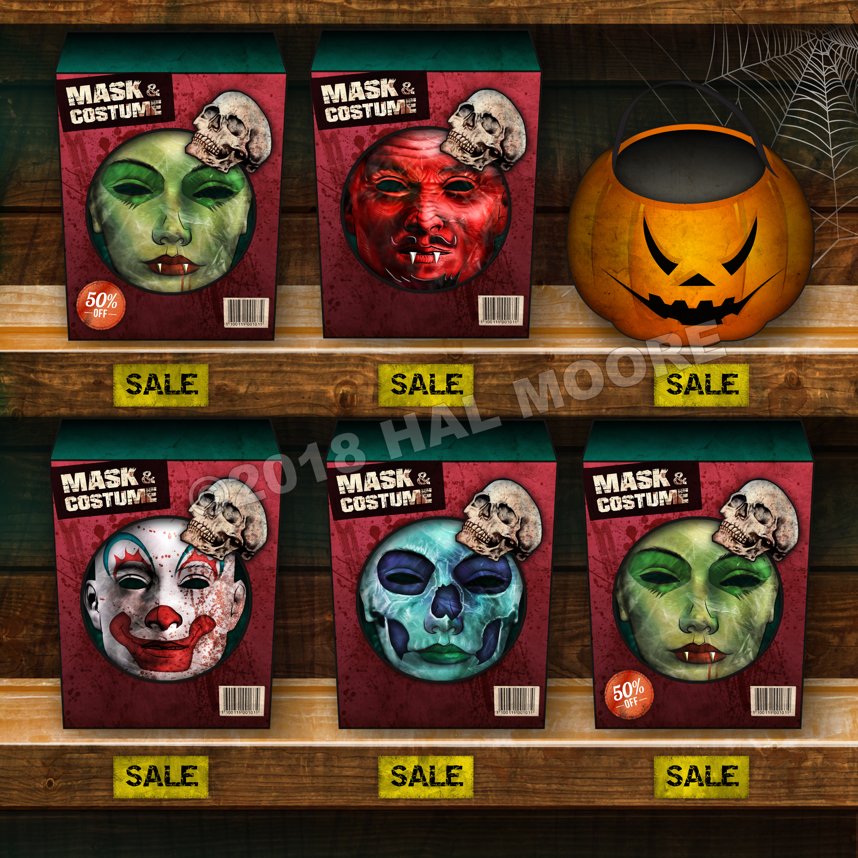HALLOWEEN MASKS for facebook