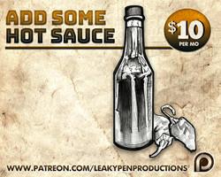 Hot sauce rewards