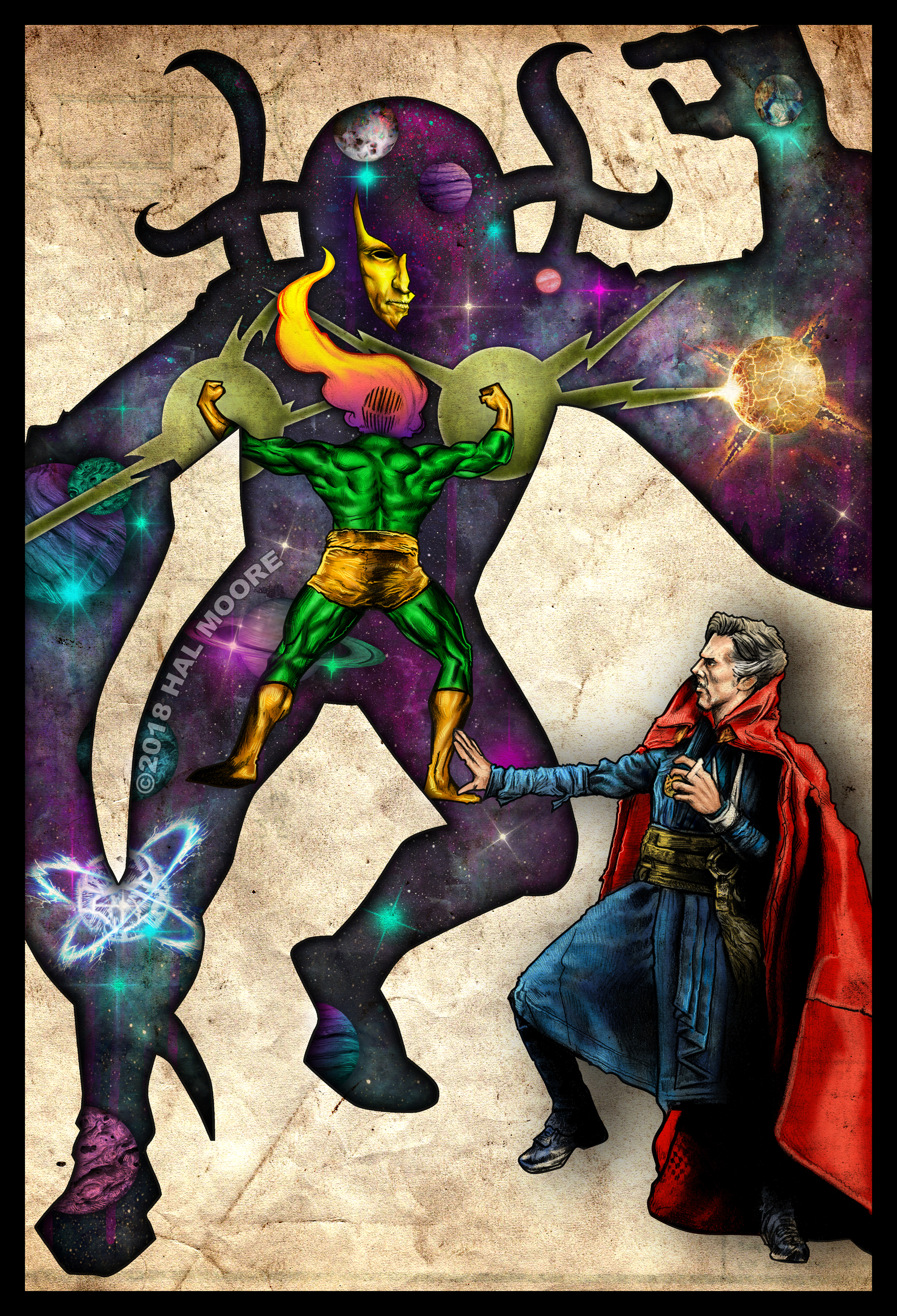 Dr Strange Ditko FINISHED