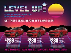 9X12 Retro Level Up Buyback PQ2