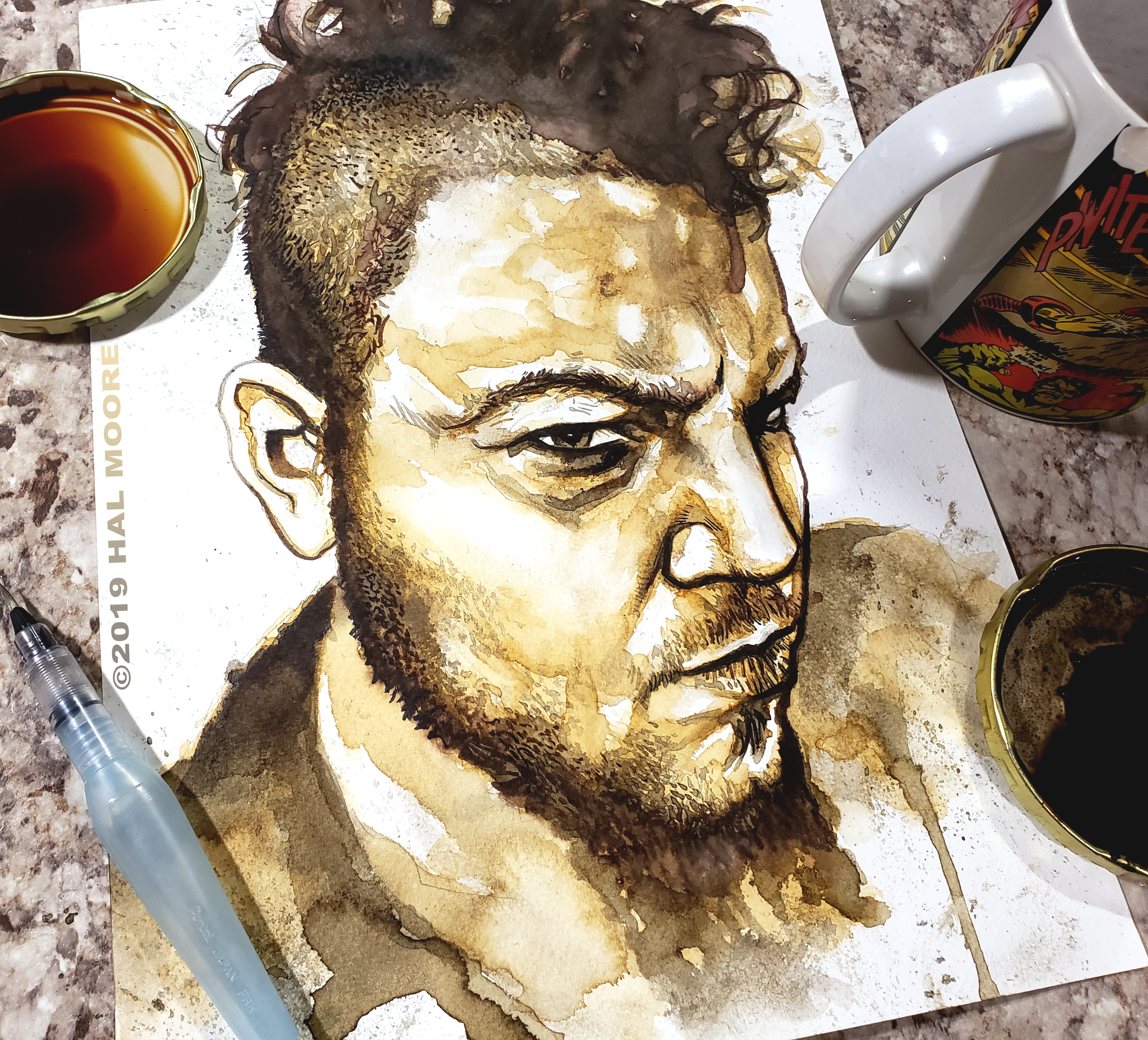 Hal Coffee portrait