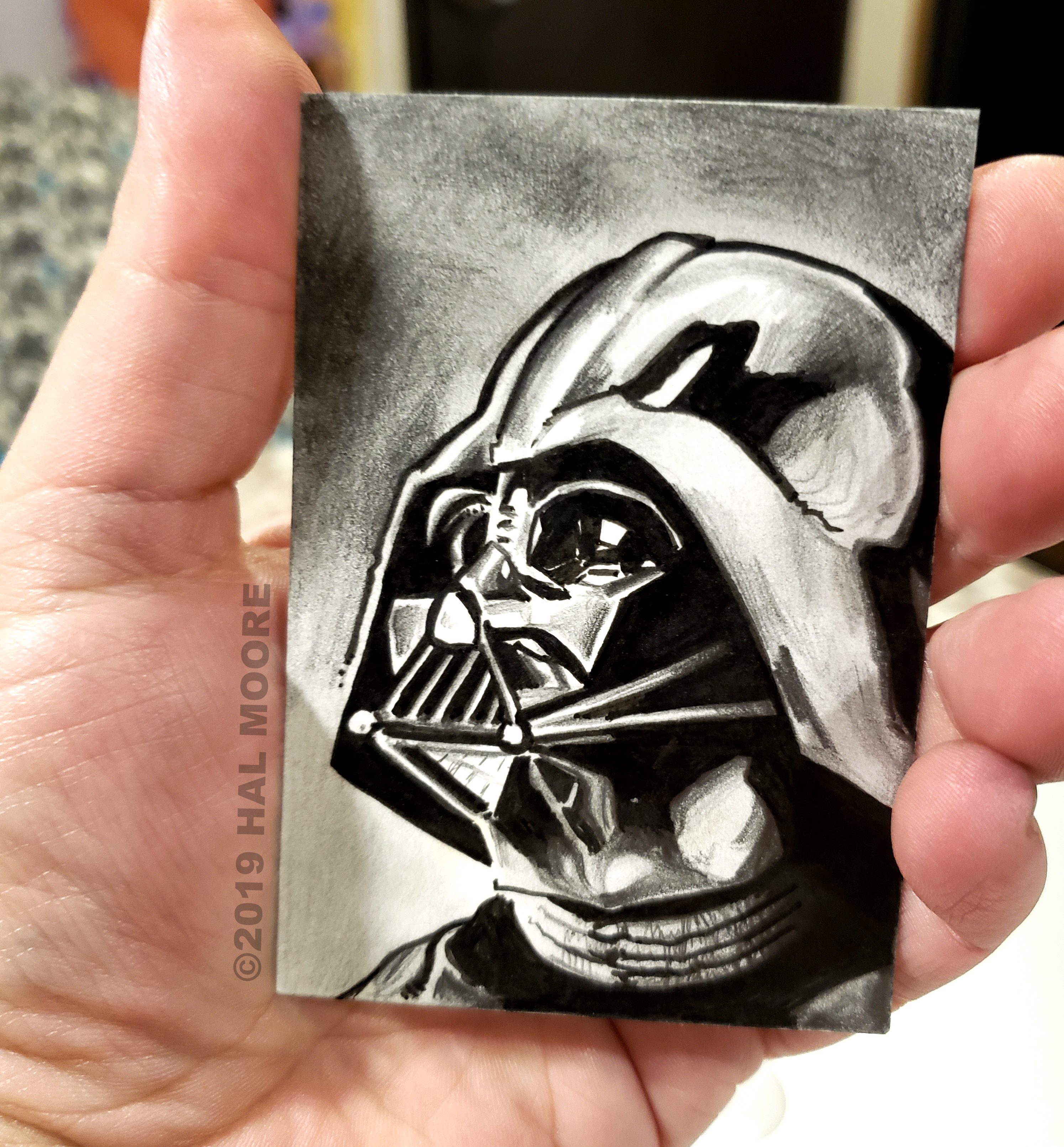 Vader sketch photo