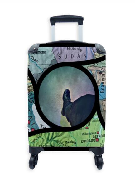 Street Art Suitcase Globetrotter 005