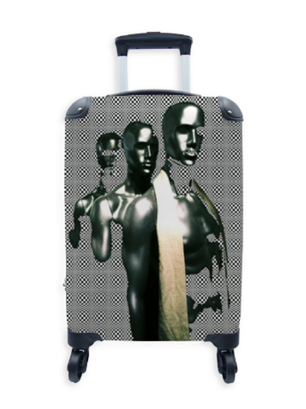Street Art Suitcase Mannequin Revolution  027