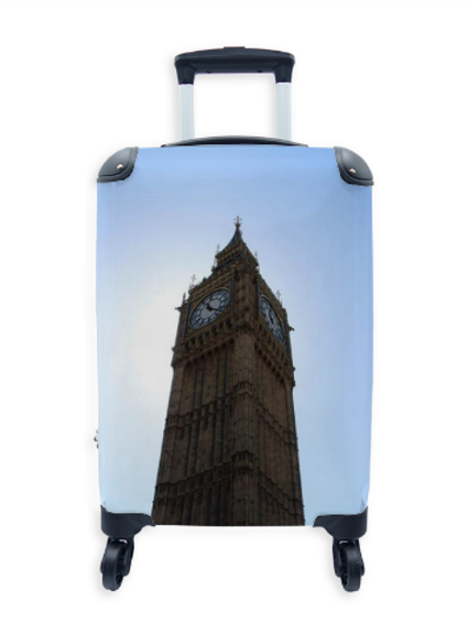 Street Art Suitcase Big Ben 008