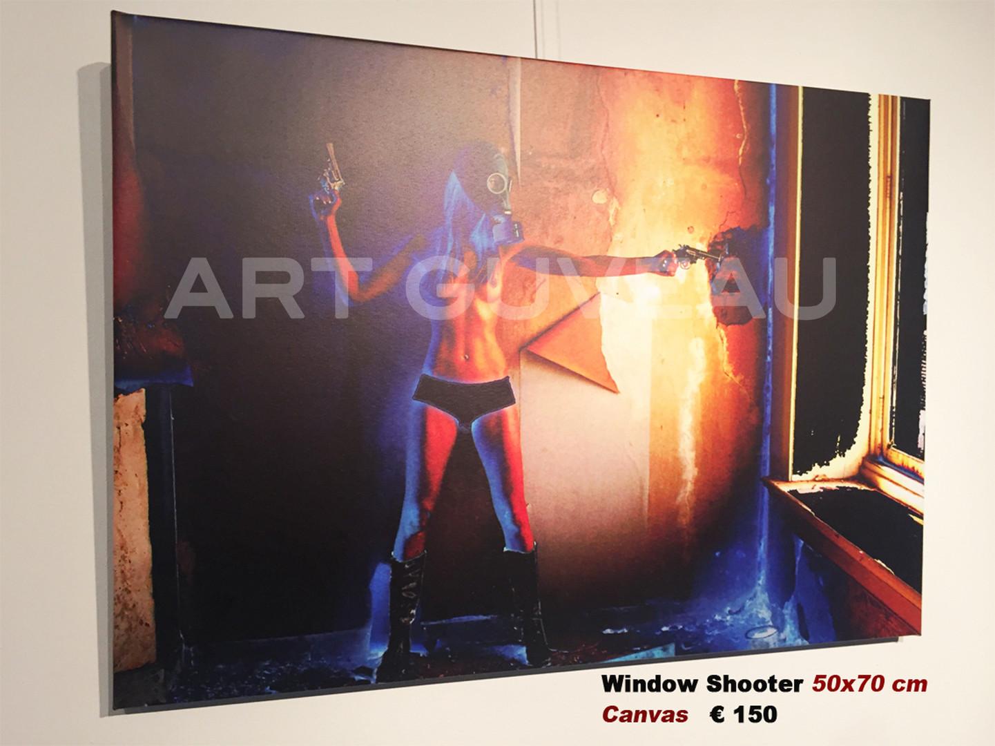 Window Shooter Framed