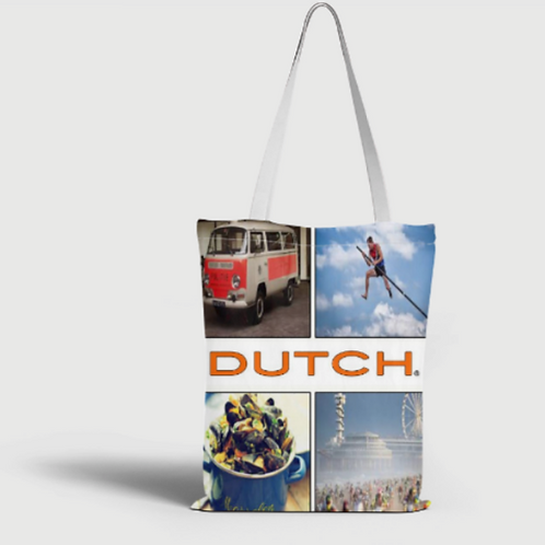 Dutch Bag 40x40cm, Mosselen 020