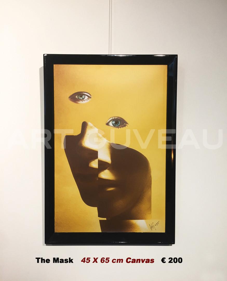 The Mask Framed