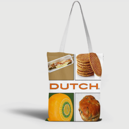 Dutch Bag 40x40cm, Stroopwafel 005