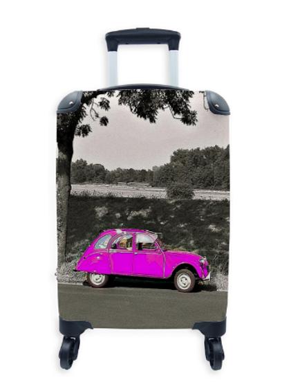 Street Art Suitcase Deux Chevaux 022