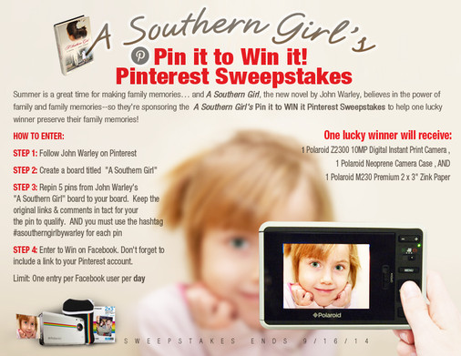 New Pinterest Sweepstakes