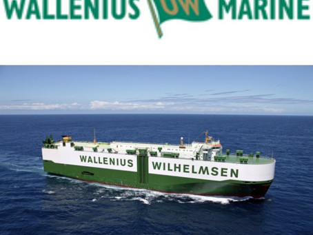 Wallenius Marine AB - En av Career Events huvudsponsorer.