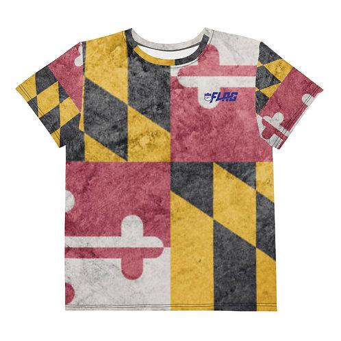 Maryland Youth crew neck t-shirt