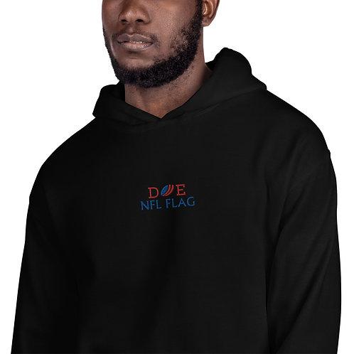 Adult Embroidered Unisex Hoodie