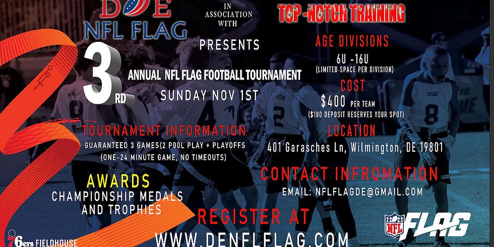 3rd Annual NFL Flag Football Tournament