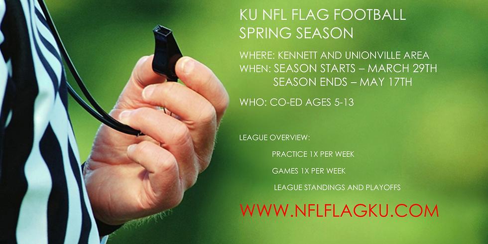 KU Spring Flag FootballLeague (Early Registration)