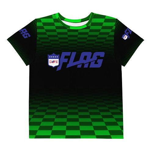Youth Kelly Green DE FLAG t-shirt