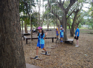 Shrewsbury International School, Year 5 - Team building, Problem Solving and Low Ropes!