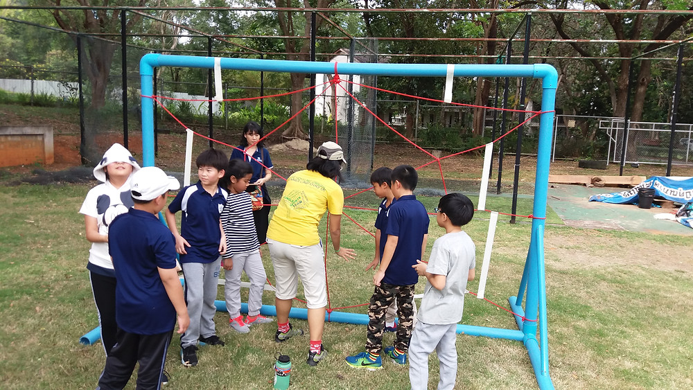Team Building - Spider's Web