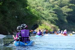 Kayaking on the beautiful Pasak River