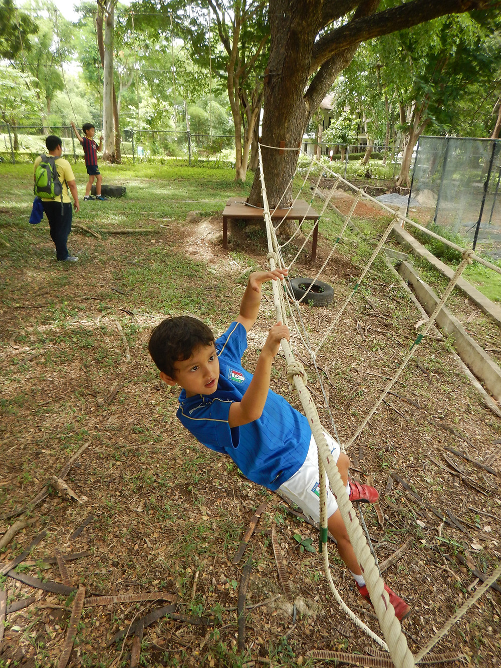 Jungle Gym - Low Ropes Challenge Course