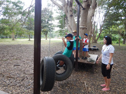 Low Ropes Course - #2 Tire Trouble
