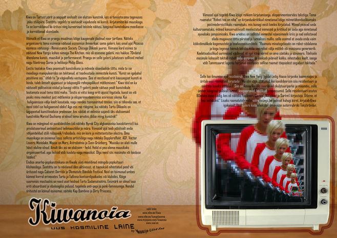 Kiwanoia page spread