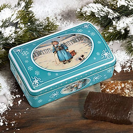 A little Winter's dream Gingerbread box