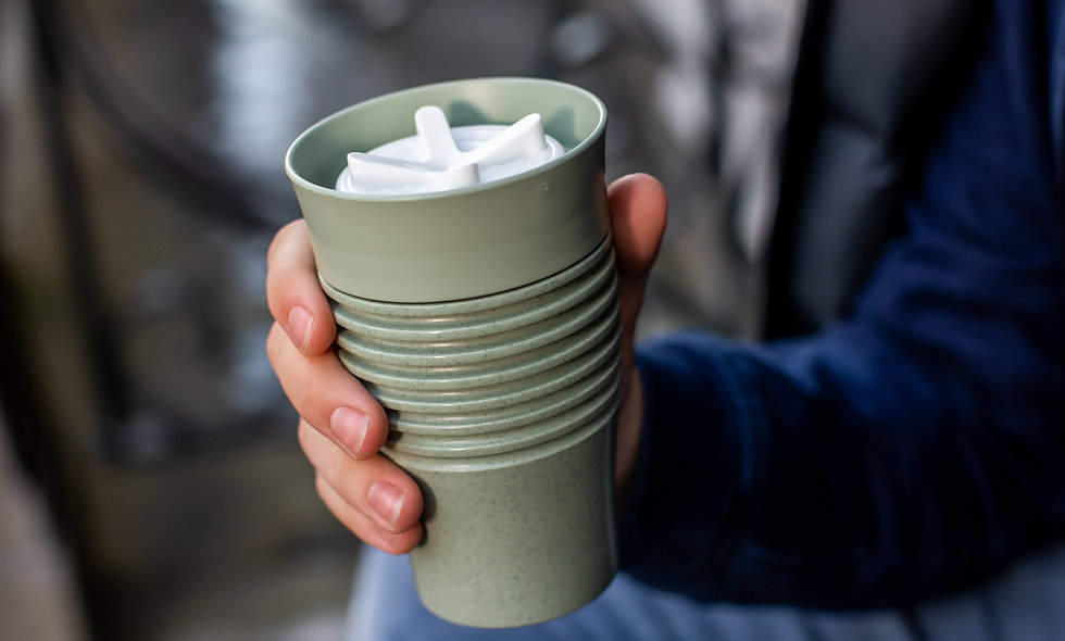 SAFE TO GO ORGANIC Insulated Cup 400ml