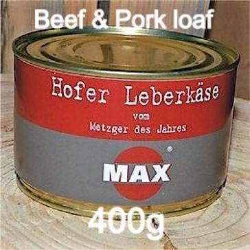 Leberkaese Beef & Pork loaf