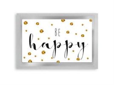 "Tea Postcard ""Be Happy"""
