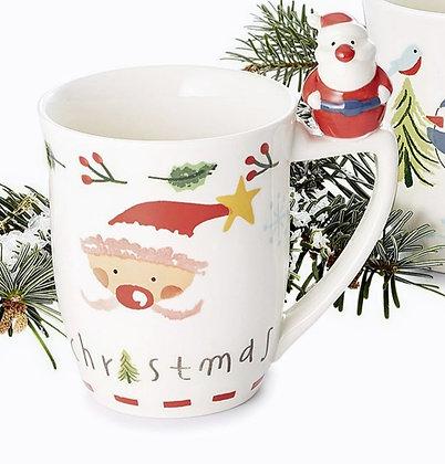 "Mug "" Santa's Crew "" 0.3l hand painted"
