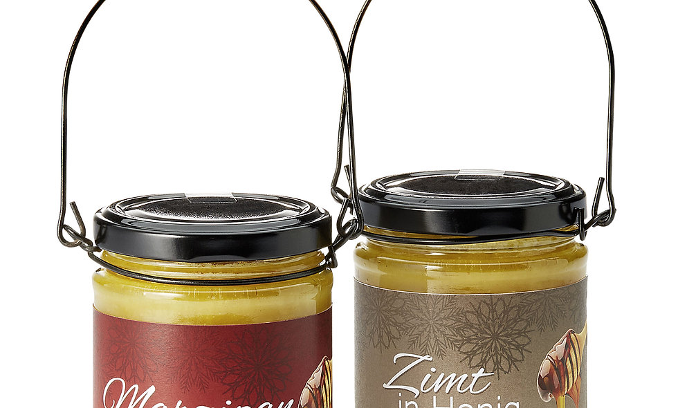 Marzipan in honey