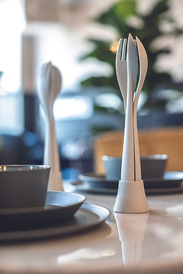 TULIP ORGANIC CUTLERY SET 4-PIECES