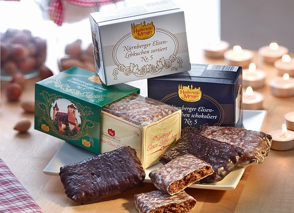 "Gingerbread box ""Elisen Lebkuchen"""
