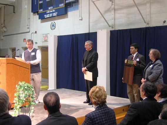 poverty summit bishop pilla award