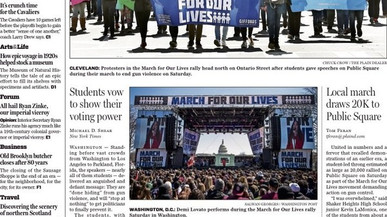 CSPJ Students Participate in March for Our Lives