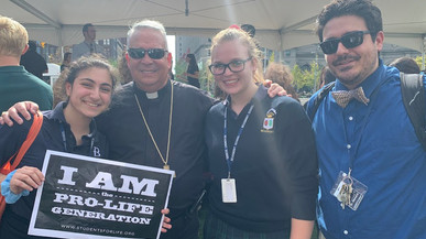 Annual Catholic Schools for Peace and Justice Mass, rally draw 400 students