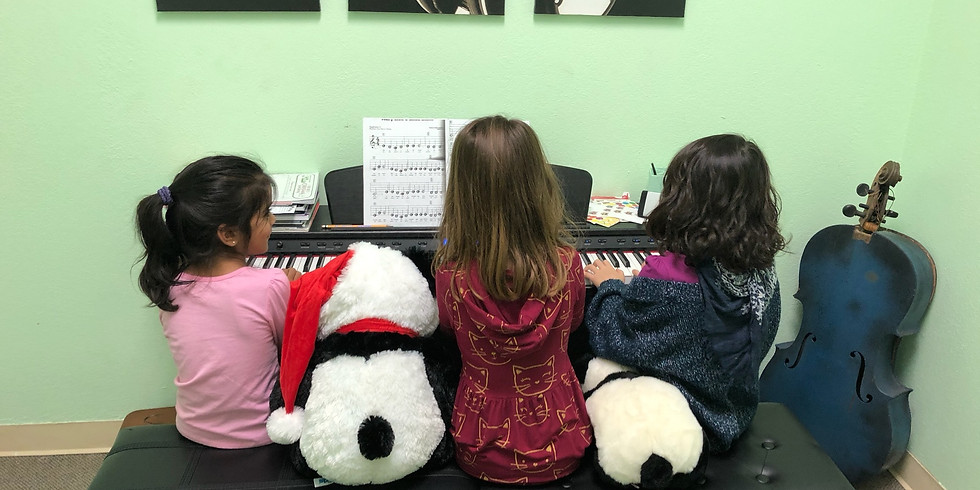 FREE TRIAL Piano Group Class ages 5-7