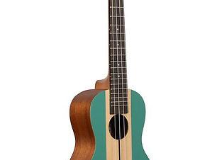 Kala surf series ukulele green brown
