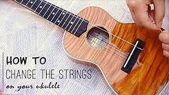 How to change your ukulele strings image