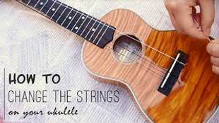 how to change replace ukulele strings