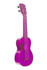 kala waterman ukulele in purple