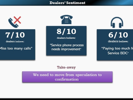 Dealers Must Understand Their Phone Culture Before Investing in a Service BDC.