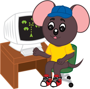 Max Mouse on Computer