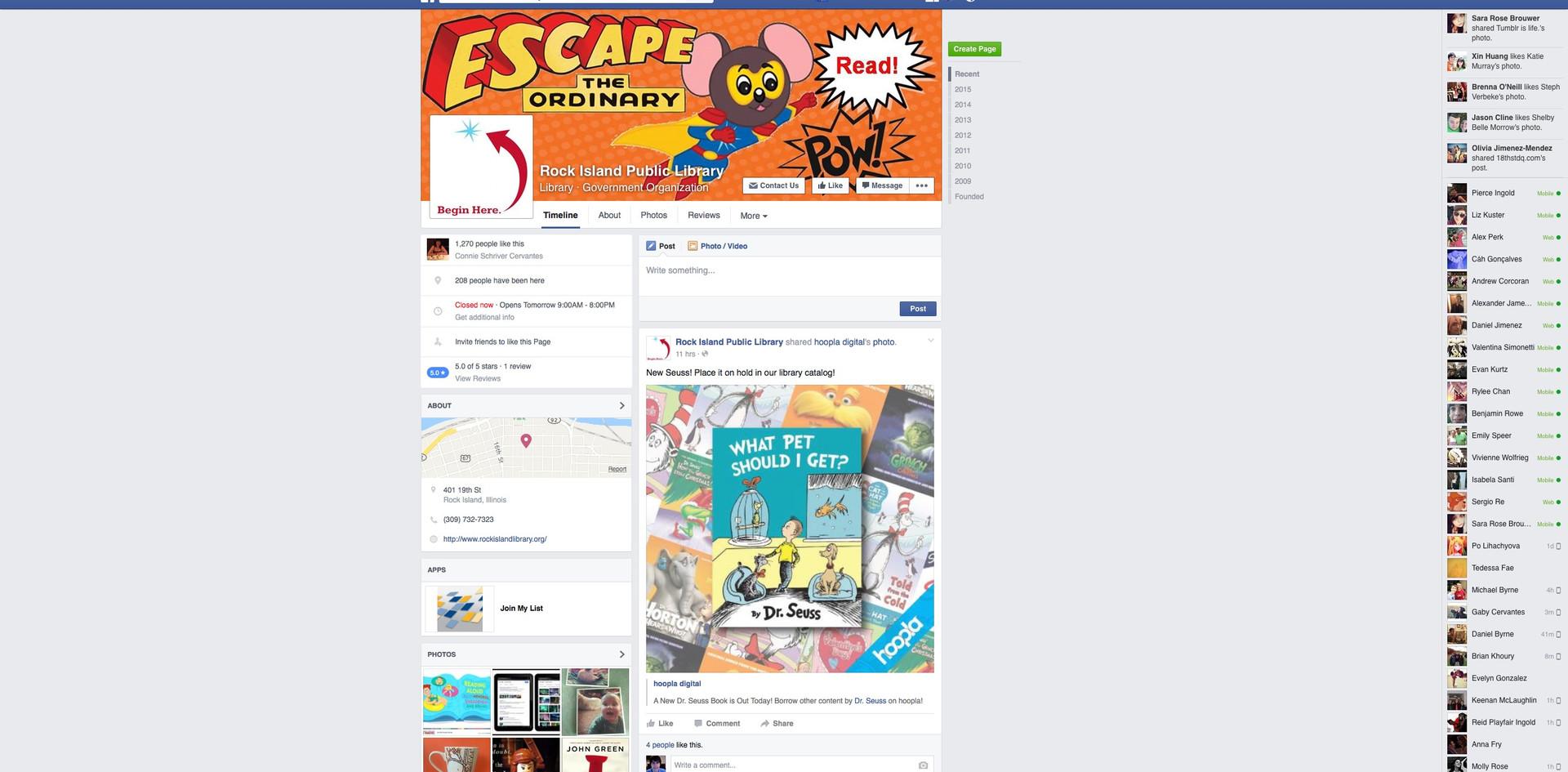Rock Island Facebook