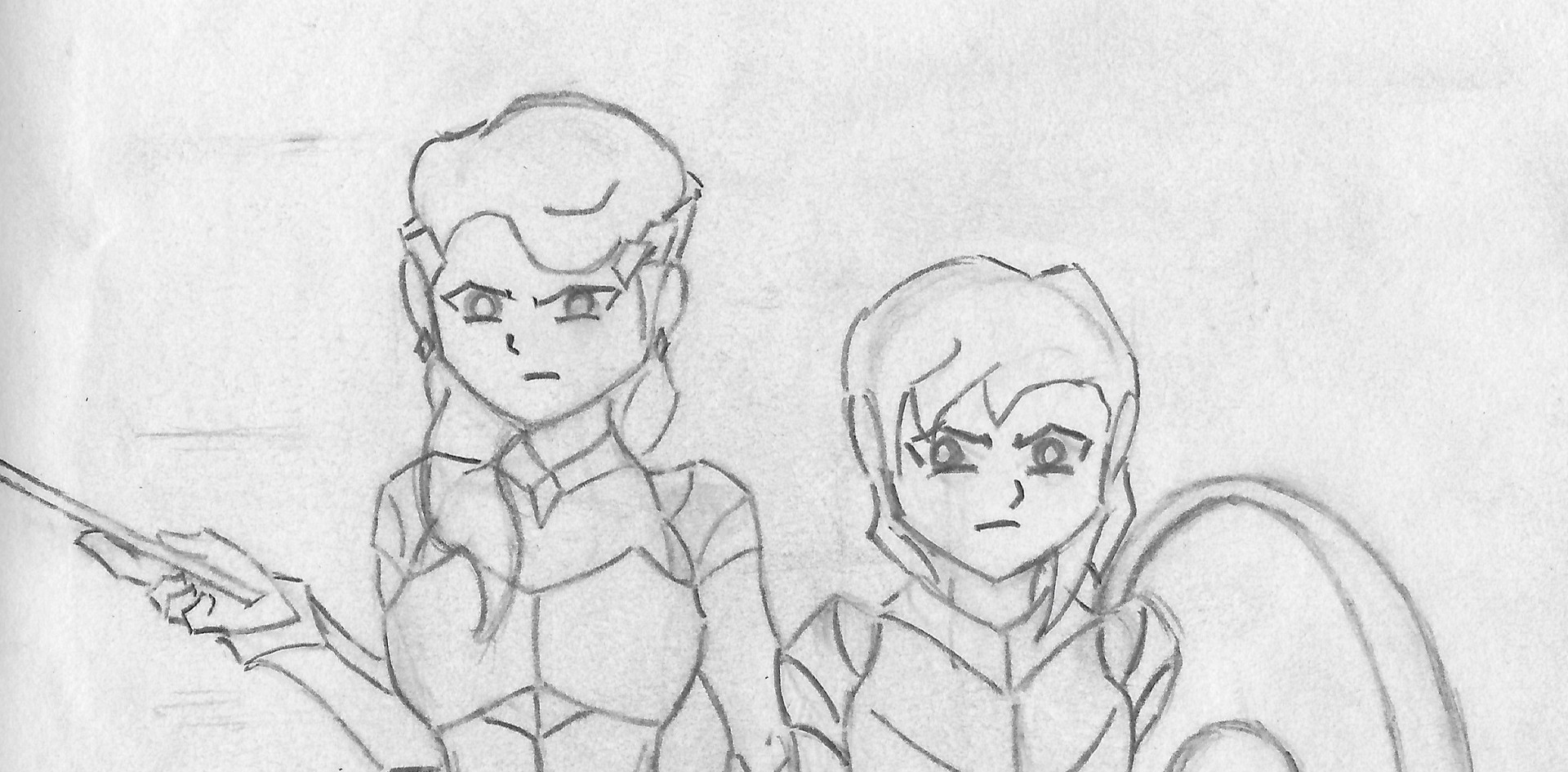 Hera and Athena
